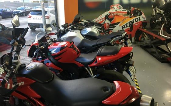 Venta de motos de ocasión multimarca.